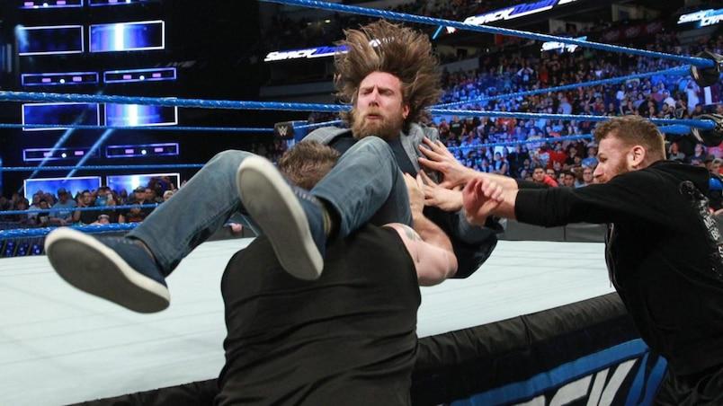 Cette semaine dans l'univers de la WWE: le retour de Daniel Bryan gâché par Owens et Zayn