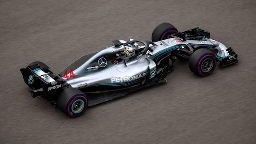 F1: les Mercedes dominantes en Russie