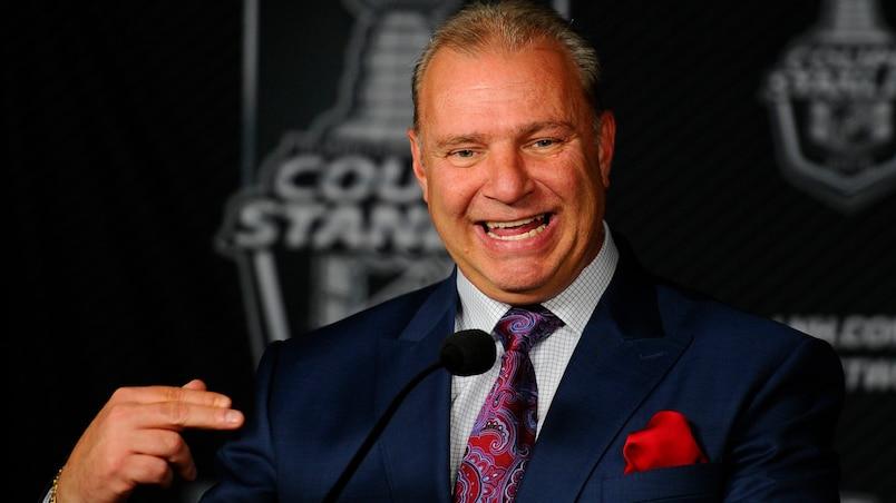 Deuxième ronde entre le Lightning de Tampa Bay et le Canadien de Montréal du hockey de la LNH.