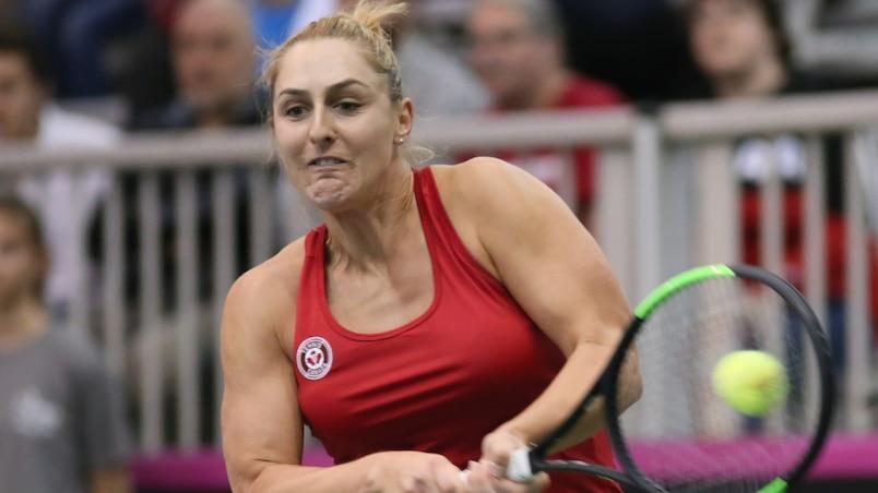 Wimbledon: Gabriela Dabrowski en quarts de finale en double