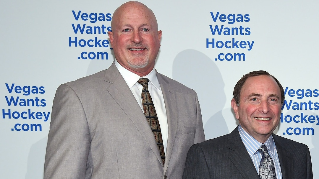 Mark Prows et Gary Bettman