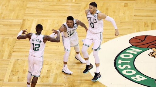 Les Celtics éliminent les Bucks