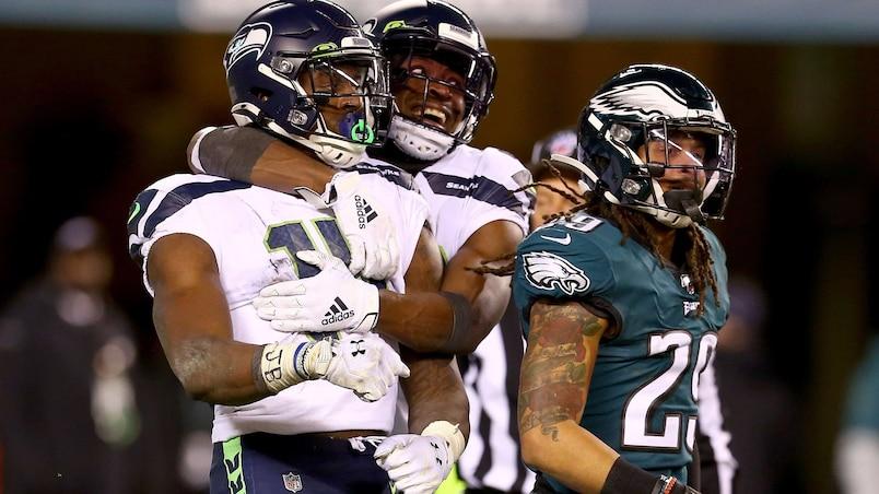 La défense des Seahawks sort les griffes chez les Eagles