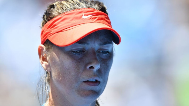 Internationaux d'Australie: Sharapova s'incline contre Barty