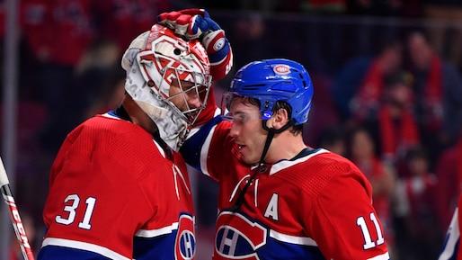 Les Canadiens gagnent enfin à la régulière