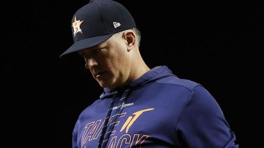 Le gérant des Astros s'en veut