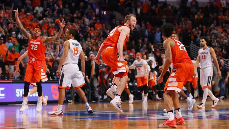 NCAA Basketball: NCAA Tournament-Midwest Regional-Virginia vs Syracuse