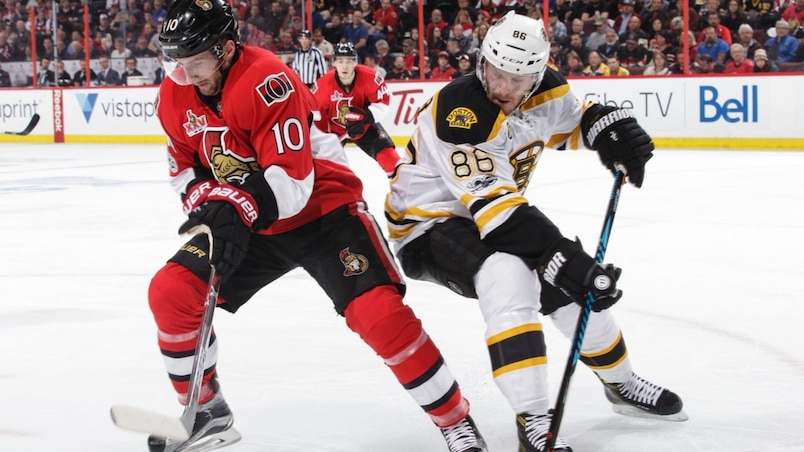 Boston Bruins v Ottawa Senators - Game One