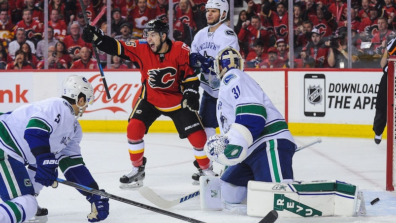 Vancouver Canucks v Calgary Flames - Game Three