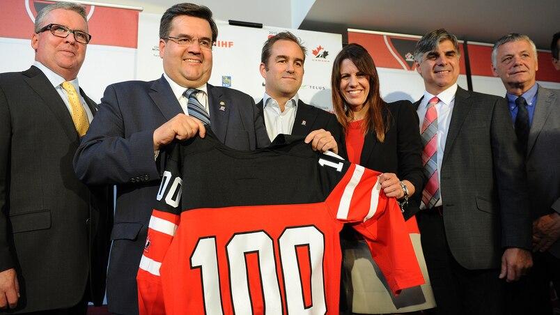 À 100 jours du Championnat mondial de hockey junior