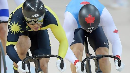 Hugo Barrette sixième du sprint de Santiago