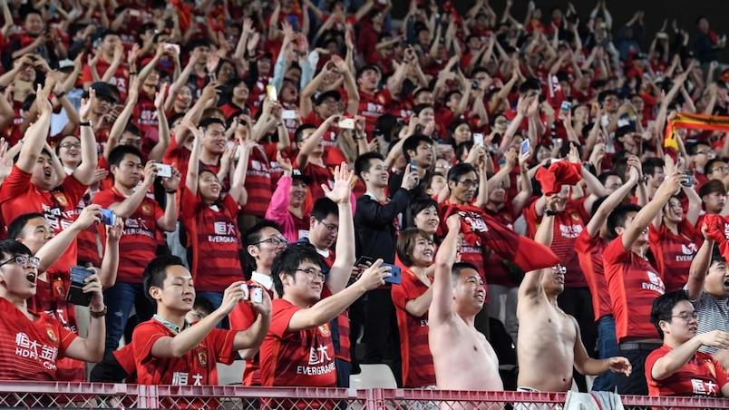 Menacés de suspension, 10 clubs chinois règlent leurs dettes