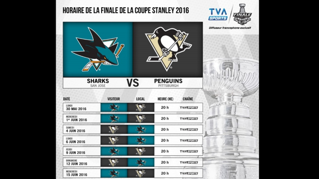 Coupe Stanley Calendrier