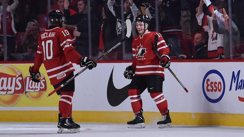 Le Canada ne fait qu'une bouchée de la Suisse