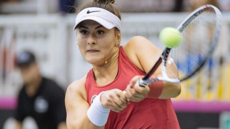 Fed Cup: le Canada mené par Bianca Andreescu, Eugenie Bouchard absente
