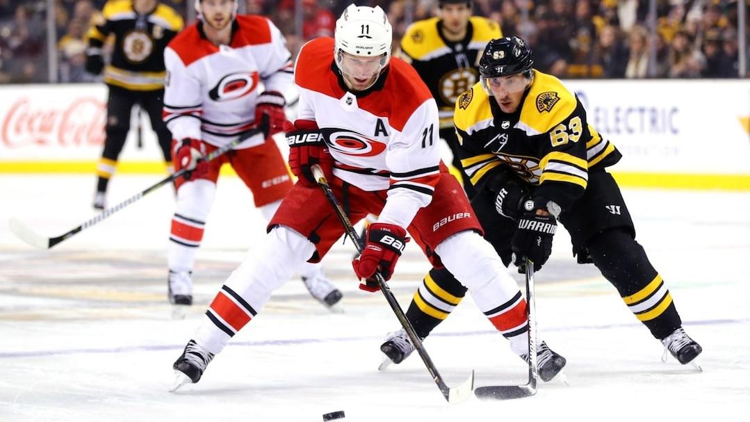 Carolina Hurricanes v Boston Bruins