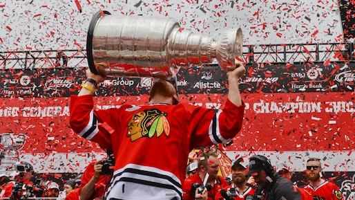NHL: Chicago Blackhawks-Victory Celebration