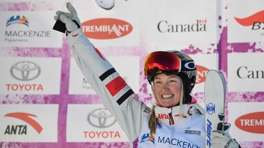 Un nouveau saut pour Justine Dufour-Lapointe