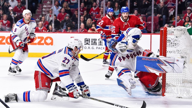 HKO-HKN-SPO-NEW-YORK-RANGERS-V-MONTREAL-CANADIENS---GAME-ONE