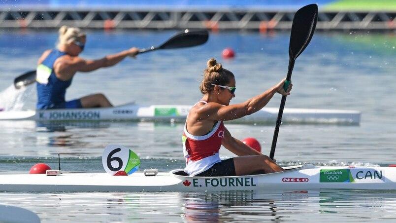 Une course décevante pour Émilie Fournel