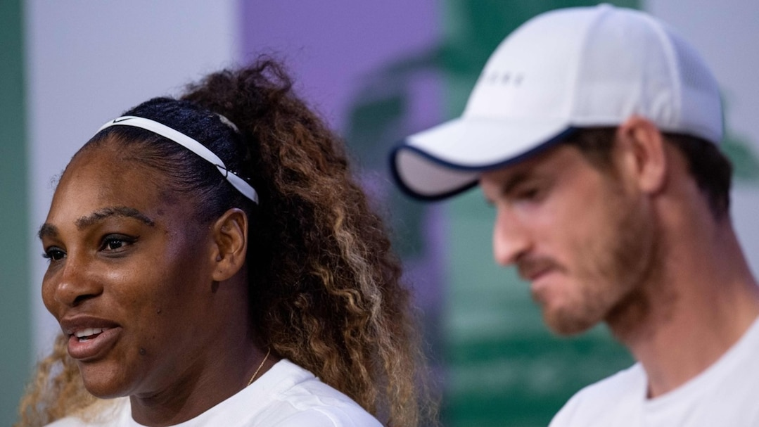 Serena Williams et Andy Murray