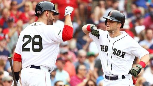 Les Red Sox viennent de l'arrière