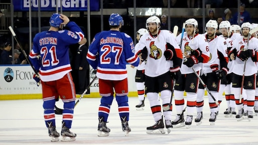 Ottawa Senators v New York Rangers - Game Six