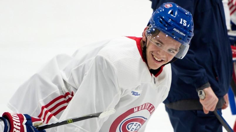 Entraînement Canadiens