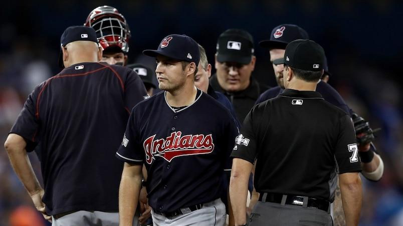 ALCS - Cleveland Indians v Toronto Blue Jays - Game Three