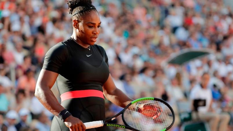 Roland-Garros: abandon de Serena Williams