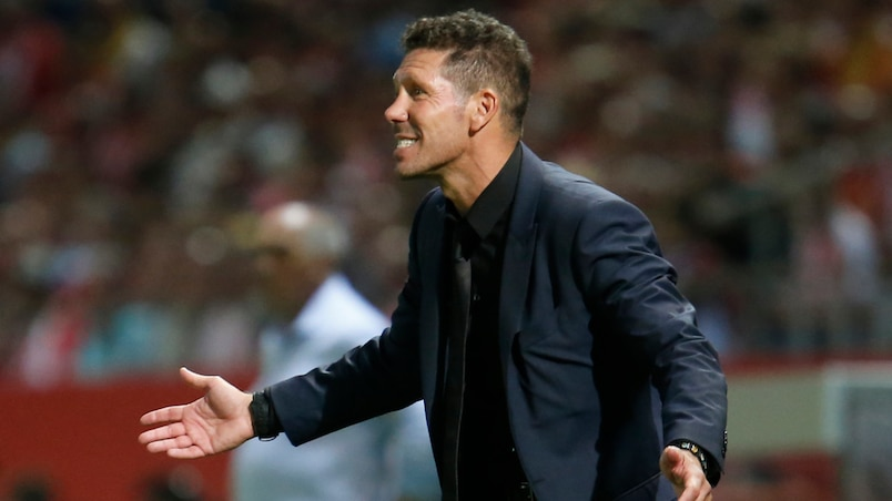Diego Simeone prolonge avec l'Atletico Madrid