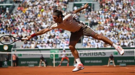 Autre victoire facile pour Roger Federer à Paris