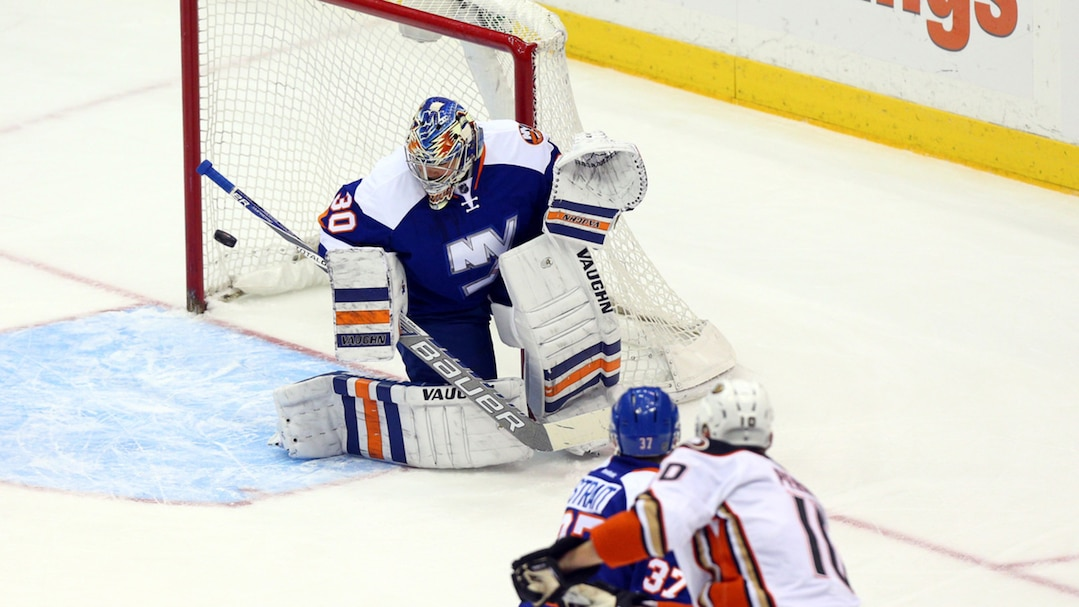 NHL: Anaheim Ducks at New York Islanders
