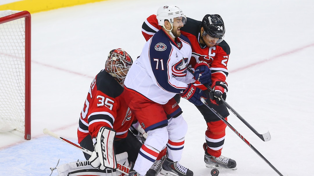 NHL: Columbus Blue Jackets at New Jersey Devils
