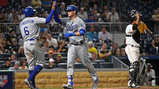 BBA-BBO-SPO-LOS-ANGELES-DODGERS-V-PITTSBURGH-PIRATES