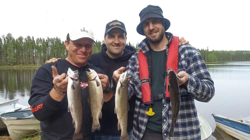À la pêche avec Simon Gagné