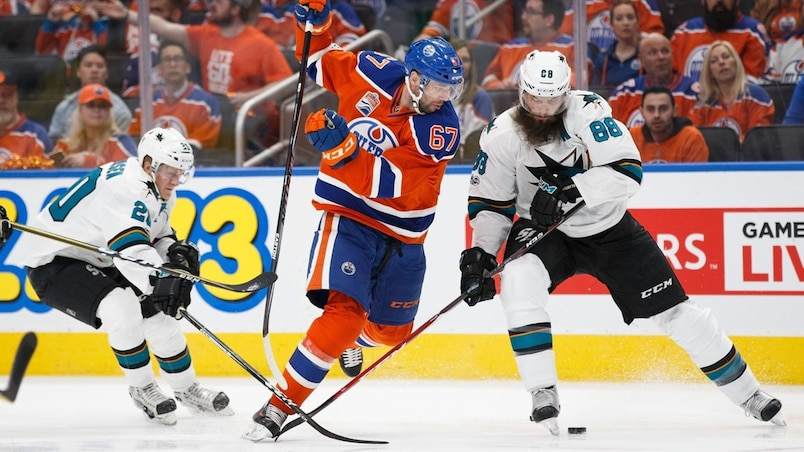 San Jose Sharks v Edmonton Oilers - Game One