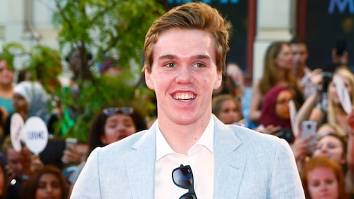Canadian ice hockey sensation Connor McDavid arrives at the MuchMusic Video Awards (MMVAs) in Toronto
