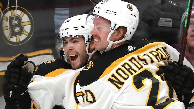 Joakim Nordstrom a le dernier mot face aux Penguins