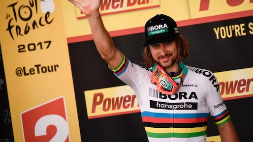 Tour de France: Peter Sagan remporte la 3e étape