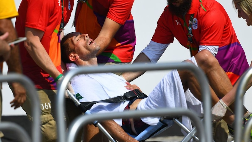 Des troubles intestinaux empêchent Diniz d'atteindre le podium