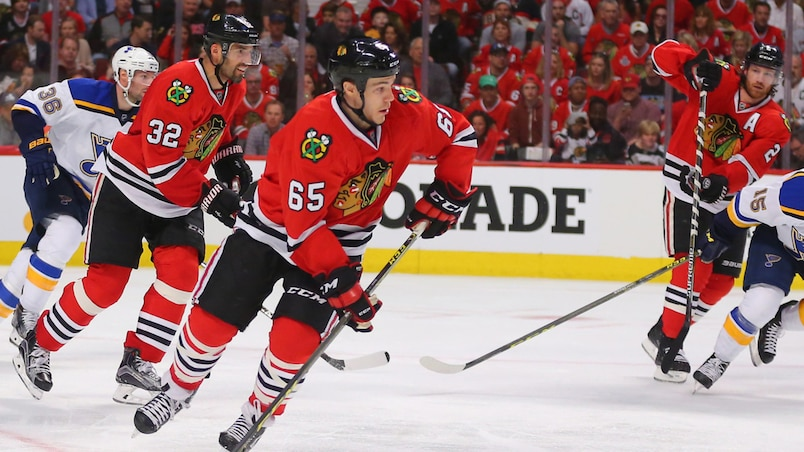 NHL: Stanley Cup Playoffs-St. Louis Blues at Chicago Blackhawks