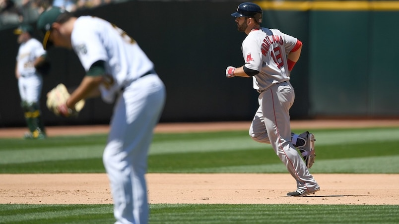 Les Red Sox servent une correction aux A's