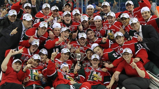 Les Mooseheads champions!