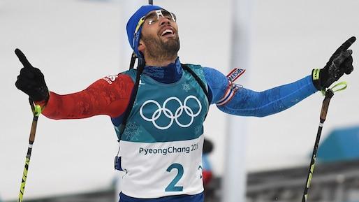 Martin Fourcade devient le Français le plus titré des Jeux d'hiver