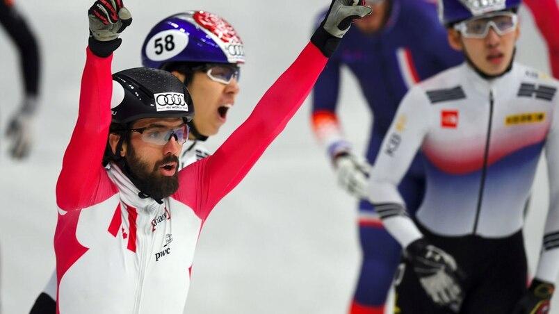 1500 m: Charles Hamelin s'impose et Kim Boutin rafle le bronze
