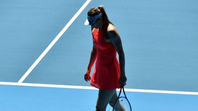 Encore raté pour Sharapova