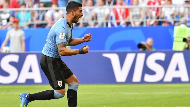 Coupe du monde: l'Uruguay s'impose face aux Russes