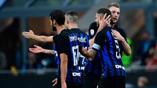 L'Inter Milan s'approche du podium