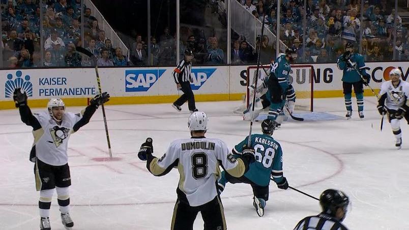 Les Penguins frappent en premier